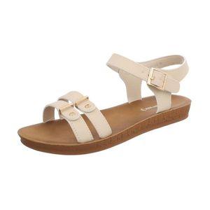 chaussures d'été lanières Sandale sandales Sandales à Femmes fy6gb7