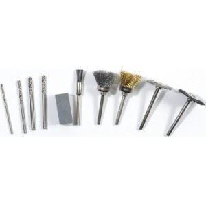 MEULEUSE 10 accessoires pour mini meuleuse type dremel