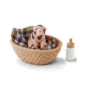 FIGURINE - PERSONNAGE SCHLEICH Figurine 42294 - Mini cochon avec biberon