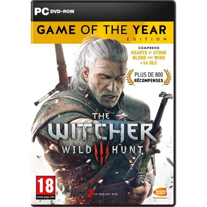 The Witcher 3 : Wild Hunt Goty Edition Jeu PC