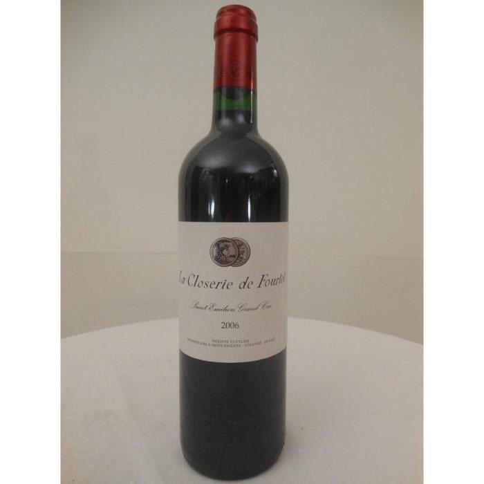 saint-émilion la closerie de fourtet rouge 2006 - bordeaux france