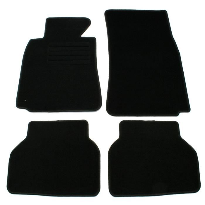 tapis de sol fixés pour BMW E39 5 séries 95-00 tournées limousine tapis de tapis de voiture passform