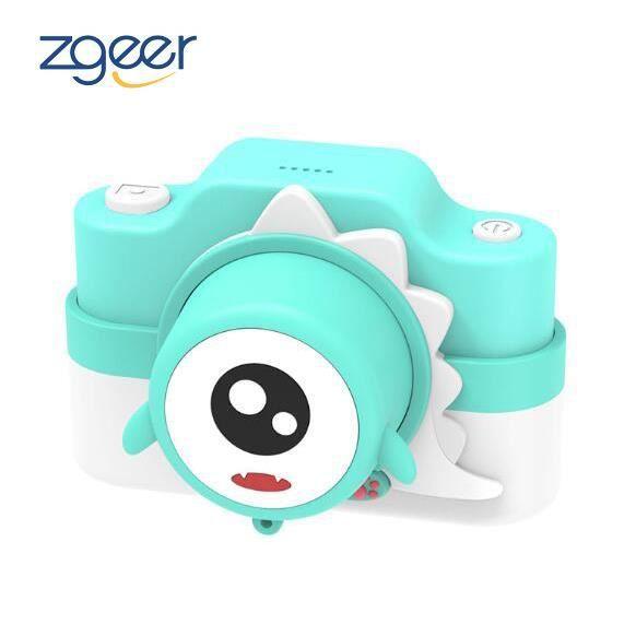 Appareil photo enfant,Appareil photo numérique jouet pour enfants à double objectif 2400W,Bleu,peut prendre des photos wifi bébé cam
