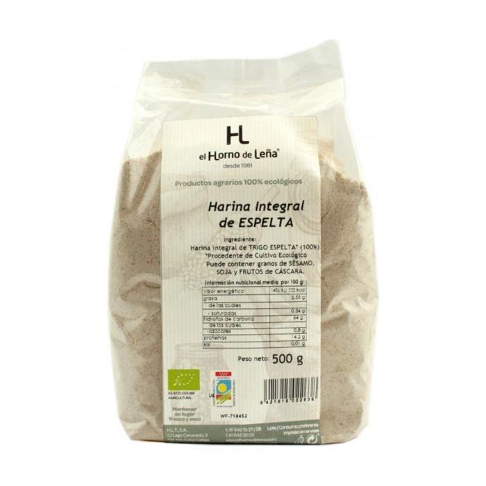 EL HORNO DE LEÑA - Farine d'épeautre complète ECO 1000 g