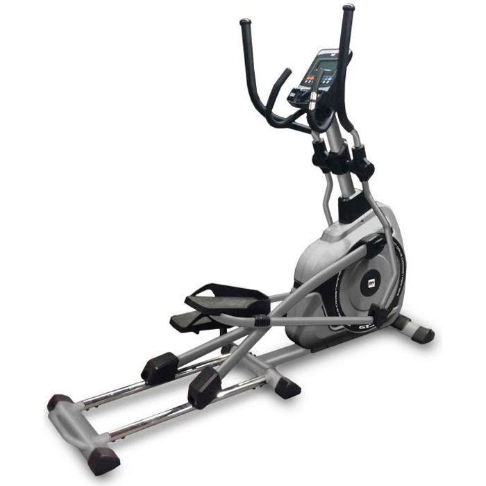 BH Fitness Vélo elliptique NC19 G858 - Systéme inertiel de 22 Kg - Foulée de 48 cm - Ceinture thoracique facultative