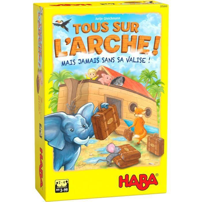 HABA - Tous sur l'arche ! - Jeu mémoire coopératif - 3 ans et plus, 305840