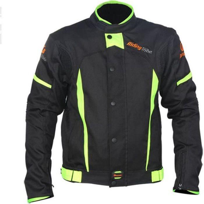 Veste de moto d'hiver unisexe anti-chute imperméable de cyclisme course racing