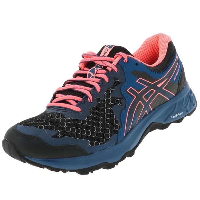 Chaussures running trail Sonoma 4 gel blk trail l - Asics