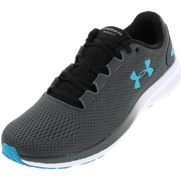 Chaussures running Pursuit 2 gris turq - Under armour