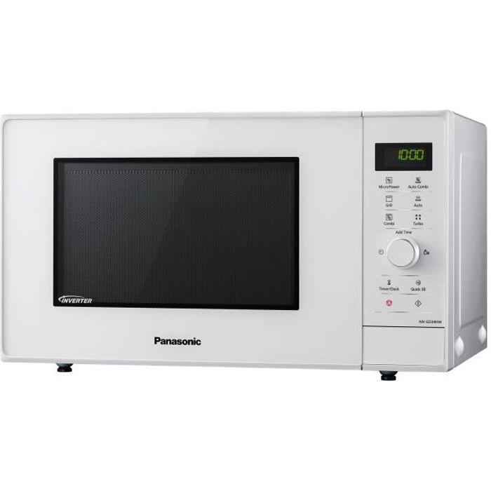 Panasonic NN-GD34 Four micro-ondes grill pose libre 23 litres 1000 Watt blanc