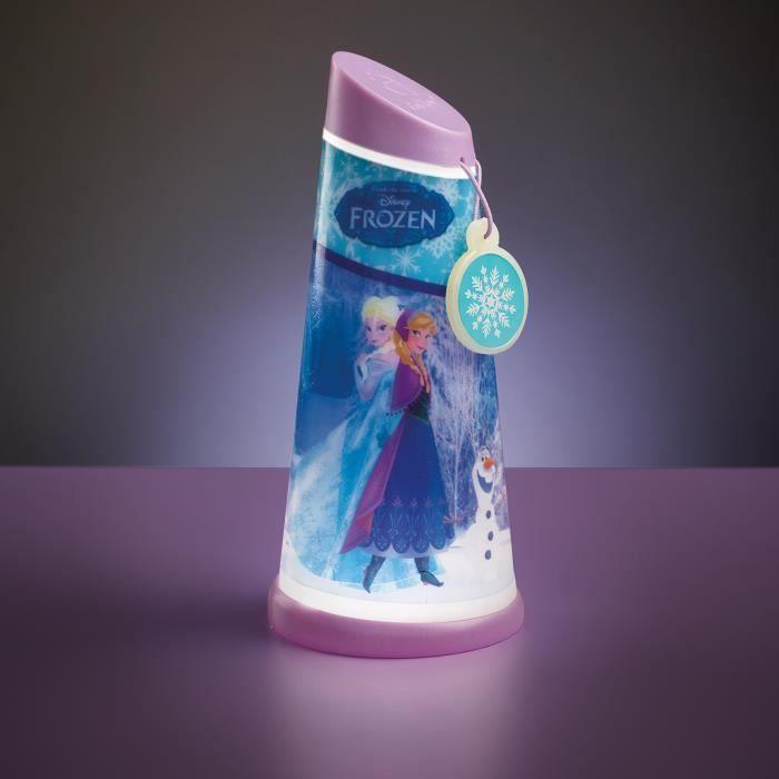 LA REINE DES NEIGES Veilleuse et Lampe Torche GoGlow - Worlds Apart