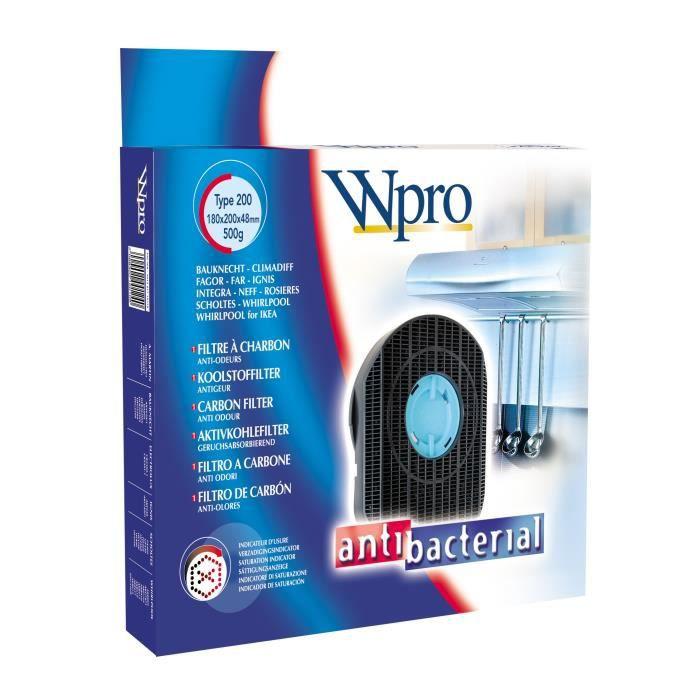 WPRO DKF42 Filtre à charbon