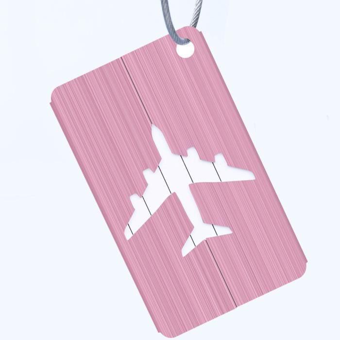 Voyage sac de vacances bagages étiquette valise étiquettes une boucle design avec nom id