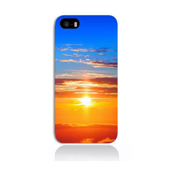 Coque iPhone 5C - Coucher de soleil - Cdiscount Téléphonie
