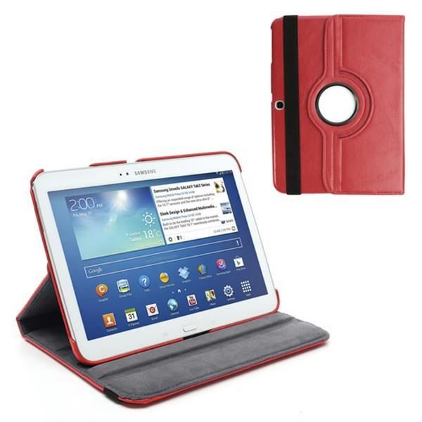 informatique accessoires tablettes tactiles etui coque samsung galaxy tab  support rotat f auc