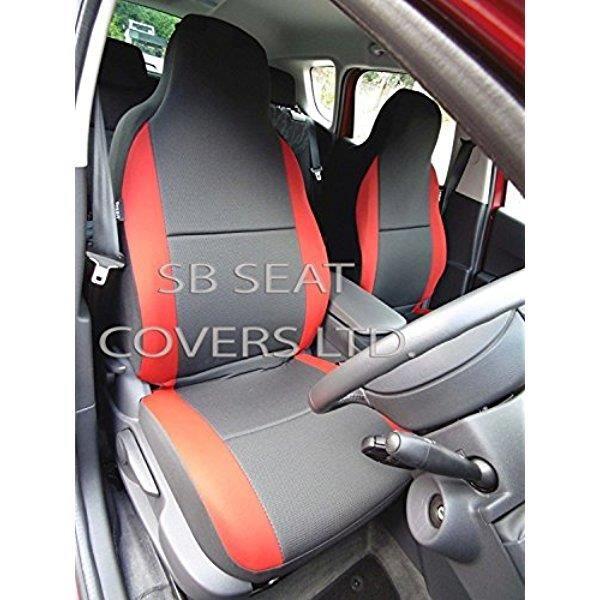 Lupex Shop captur N.R Housses de si/ège Auto Bicolore Noir//Rouge