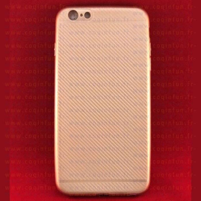 coque iphone 6 plus cuivre carbone