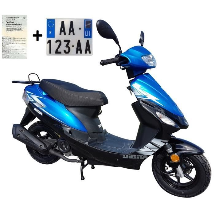 SCOOTER Scooter 50cc 4 temps à injection JORDON LJ50QT-3L
