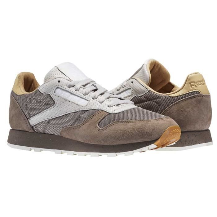 805fc889808 Chaussures homme Baskets Reebok Classics Classic Leather Sm Gris ...