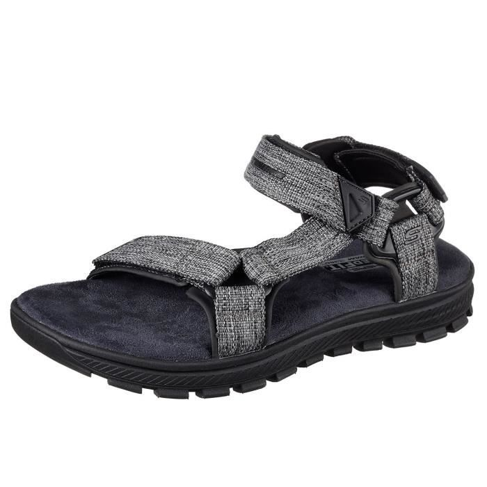 Skechers Mandro Reeve Sandals Black D(m) Us GSX8A Taille-47 aY2acJ85Bm