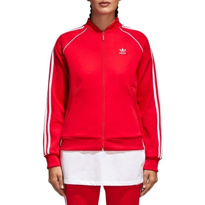Professionnel 2019 publications adidas sst tt veste rouge