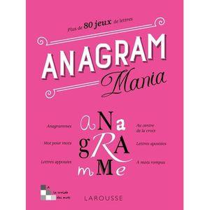 STICKERS Anagram Mania. Plus de 80 jeux de lettres