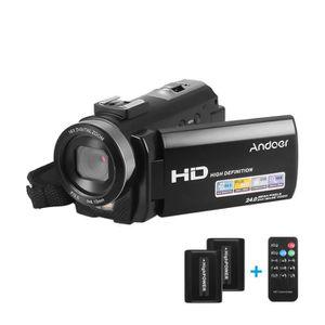 CAMÉSCOPE NUMÉRIQUE Andoer FHD 1080P Caméscope numérique portable Camé