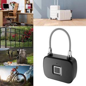 CADENAS DE BAGAGE Portable cadenas à empreinte digitale Smart Keyles