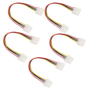 PACK CONNECTIQUE  5x Pins Mâle À Femêlle Câble d'Alimentation Connec