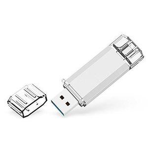 CLÉ USB RAOYI Clé USB 128GB 3.0 Type C à Double Connectiqu