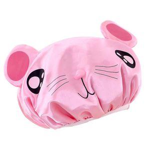 panda Toporchid Bonnet de douche imperm/éable /à leau Cartoon Cartoon Bonnet de bain /élastique pour adultes et enfants