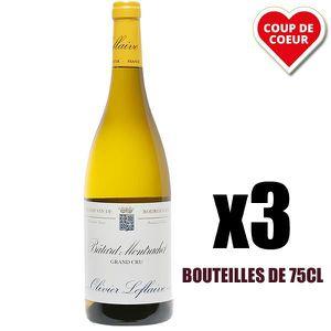 VIN BLANC X3 Bâtard-Montrachet Grand Cru 2011 75 cl Olivier