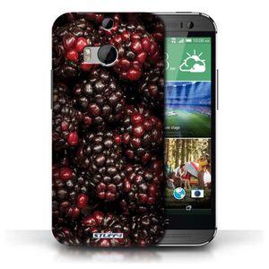 COQUE - BUMPER Coque de Stuff4 / Coque pour HTC One/1 M8 / Cassis
