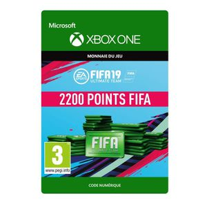 EXTENSION - CODE DLC FIFA 19 Ultimate Team : 2200 pts pour Xbox One