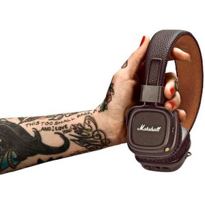 CASQUE - ÉCOUTEURS MARSHALL MAJOR II Casque Audio Bluetooth - Marron