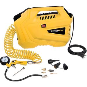 COMPRESSEUR Compresseur portable 1100w Powerplus