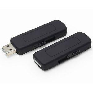 DICTAPHONE - MAGNETO. Micro espion Clé USB rétractable noire