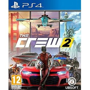 JEU PS4 The Crew 2 Jeu PS4 + 1 Skull Sticker