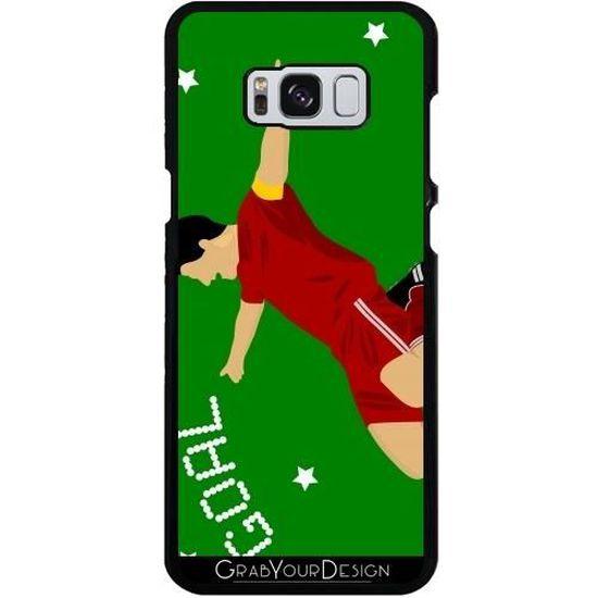 Coque pour Samsung Galaxy S8 Plus - Joueur De Football Heureux h|h ...