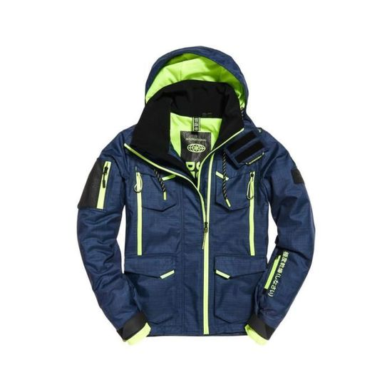 Superdry Snow Jacket Action Skisnowboard Ultimate Homme Vestes XwqYxzC