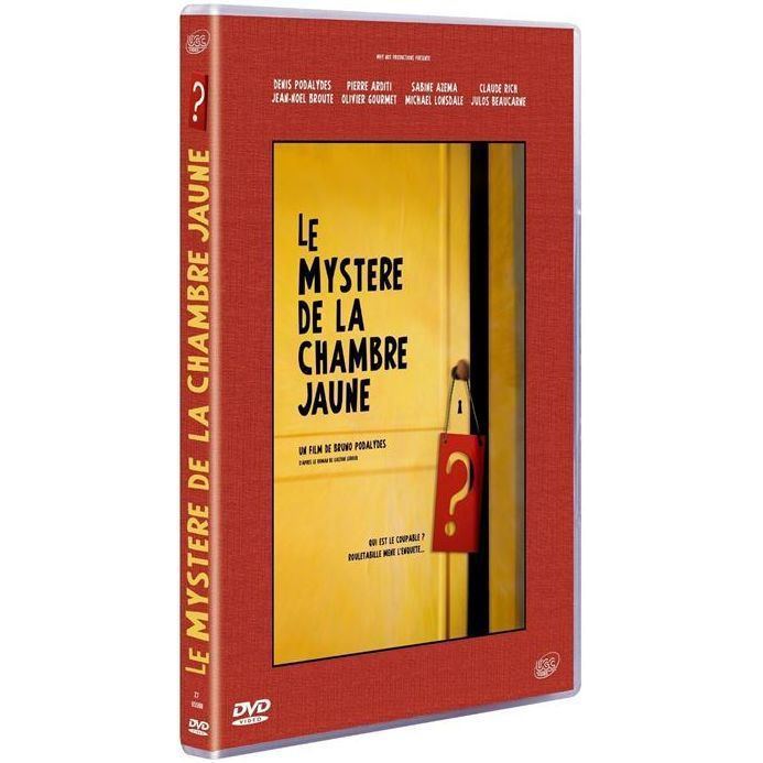 dvd le myst re de la chambre jaune en dvd film pas cher claude rich denis podalyd s jean no l. Black Bedroom Furniture Sets. Home Design Ideas
