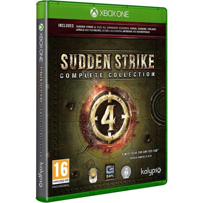 Sudden Strike 4 Complete Jeu Xbox One