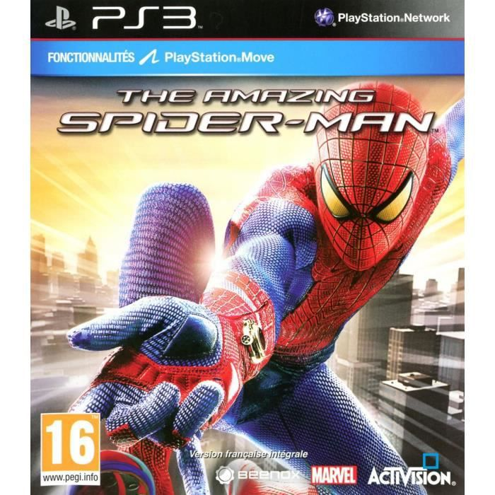 JEU PS3 THE AMAZING SPIDER-MAN / Jeu console PS3