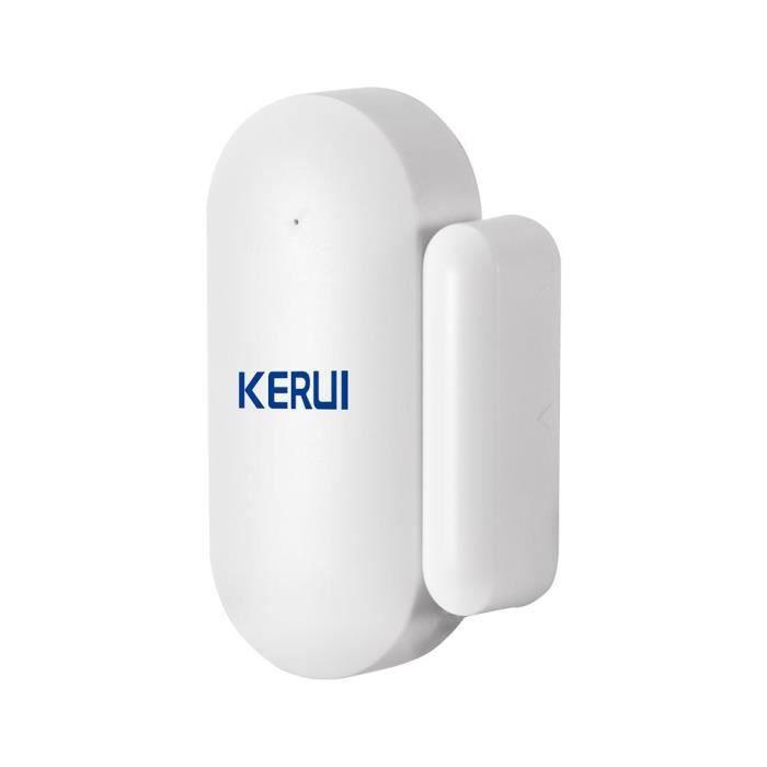 KERUI – système d'alarme de sécurité domestique sans fil W18, wi-fi, GSM, anti-cambriolage, avec télécommande, [9DB3732]