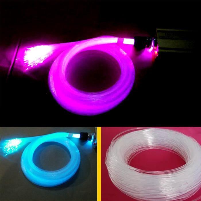 1 PC Fibre Optique Haute Transparence 100 Mètres 0.75mm Lumières Décoratives pour Décoration Utiliser Fontaines FIBRE OPTIQUE