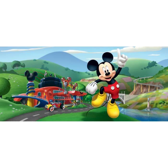 Poster Horizontal Mickey Mouse Disney 202CM X 90CMAire de Jeux Mickey et tous ses amis Découvrez notre Poster Mickey Mouse Aire de
