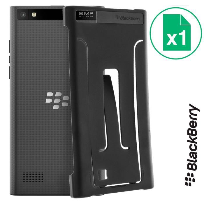 BLACKBERRY Coque Leap Flex - Noir