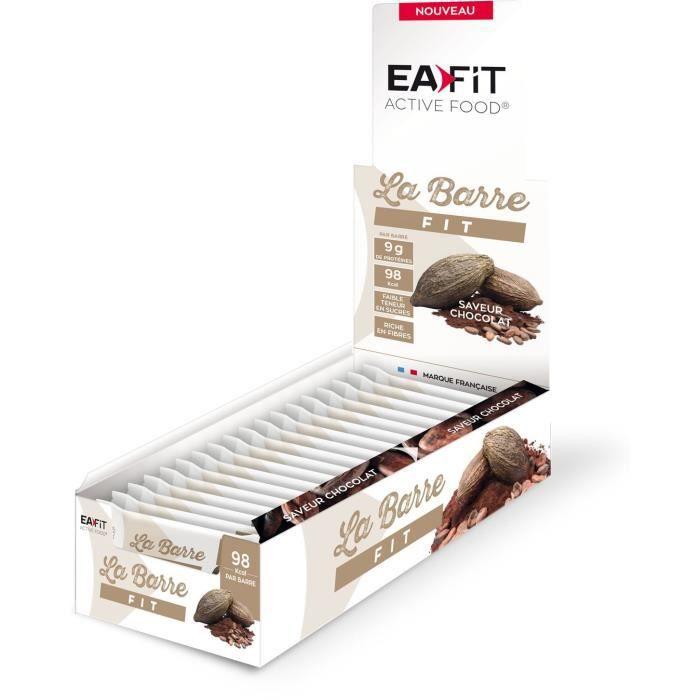 EAFIT LA BARRE FIT - Chocolat - Prés
