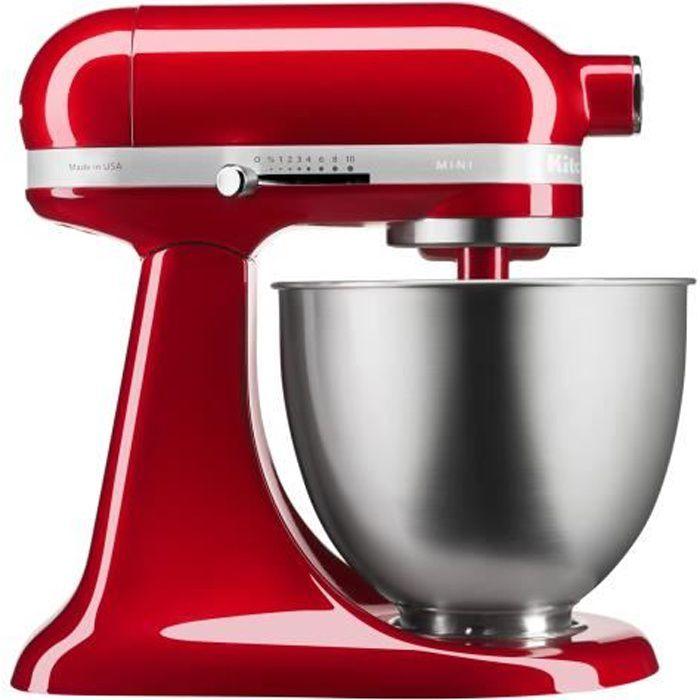KitchenAid Mini 5KSM3311XECA Robot pâtissier 250 Watt rouge