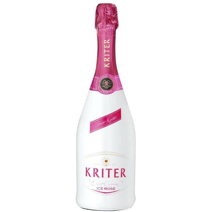 Kriter Ice rosé - Vin effervescent blanc